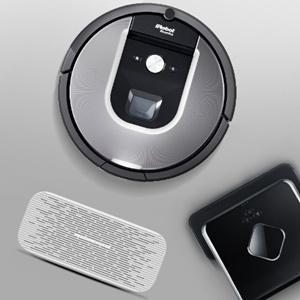iRobot扫擦组合Roomba960+Braava380