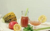 破壁机怎么榨果汁 蕃茄哈蜜瓜汁的做法