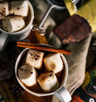 破壁机快速早餐食谱之巧克力豆浆