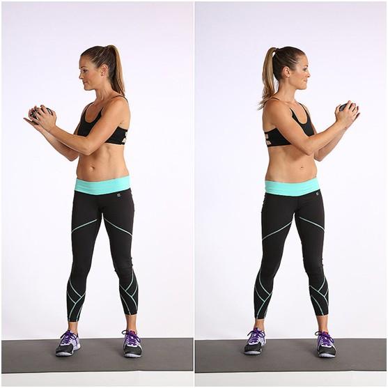 瘦腰腹的最快方法和图片教学